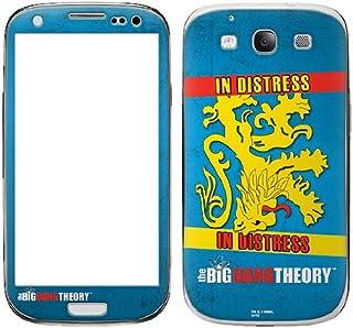 Zing Revolution 《大爆炸理论》高级乙烯基胶粘皮肤适用于三星 Galaxy S III,公寓旗 (MS-TBBT80415)