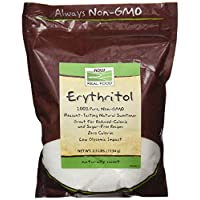 Now Foods Erythritol 天然甜菜 2.5 lb (Pack of 2)