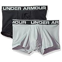 Under Armour 男式 Tech Mesh 6 英寸平角内裤 - 2 件装