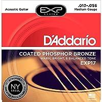 D'Addario 达达里奥 EXP Phosphor Bronze EXP17 13-56 涂层磷铜民谣吉他弦