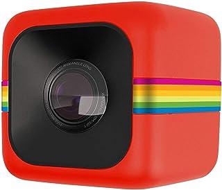 Polaroid Cube 高清1080P Lifestyle 运动摄像头,内置可充电电池,长达90分钟录制时间 – 防水,防震,可固定 – 124 ° 广角镜头