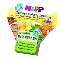 HiPP 喜宝 蔬菜肉锅配土豆丁,豌豆,6件装(6 x 250克)
