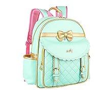 Tusong 女童防水背包 公主儿童书包 手提包