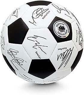 DFB 中性 - 成人许可无标记足球签名,黑色,白色,5