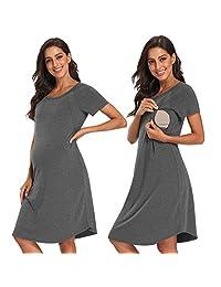 POSHGLAM 女式哺乳睡衣 孕妇 实验室 / 分娩 * 礼服 / 哺乳睡衣