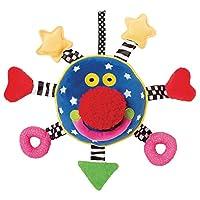 Manhattan Toy 曼哈顿玩具 小丑宝宝六英寸挂吊式玩具(亚马逊进口直采,美国品牌)