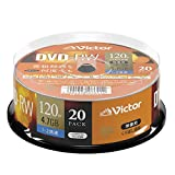 Victor Victor 录像用DVDVHW12NP20SJ1 くり返し録画用 20枚(スピンドルケース)