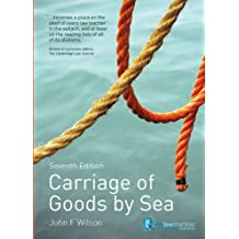 Carriage of Goods by Sea (English Edition)
