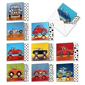 MPOCB-CAR1 各种场合记事卡片,NobleWorks 出品 Mini See Spot Drive MQ4977OCB-B1x10