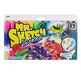 MR.SKETCH 12色水果香水彩笔 20072 毎支香味均不同 安全无毒 美国原产