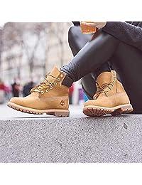 Timberland 添柏岚 女款 高帮大黄靴 防水工装靴 10361 小麦黄