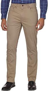 DKNY 男式拉绒 Bedford 修身直筒裤