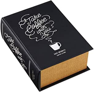Interform THE Coffee STREET 黑色 幅15.5×奥行21.5×高さ8cm GD-3339BK