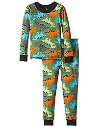 Jockey 男孩保暖内衣套装 Dino 全身印花 7