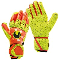 uhlsport 男士 Dynamic Impulse Supergrip 守门员手套