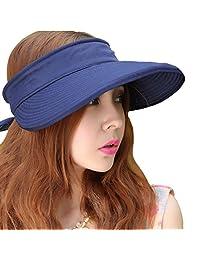 Leben LerBen® 女式休闲宽帽檐 2合1 UV 旅行者夏季高尔夫遮阳帽