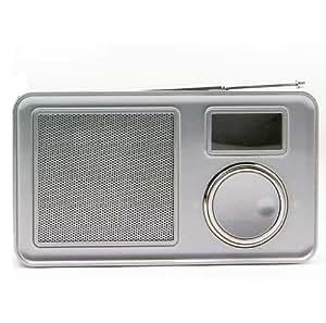 FULL-JON PPA002(带 DAB/DAB+ FM收音机mp3功能) (银)