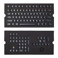 CORSAIR 海盜船 PBT二色鍵帽全104 / 105鍵盤 - RGB和背光兼容 - 適用于機械鍵盤 - FPS MOBA MMO - 黑色