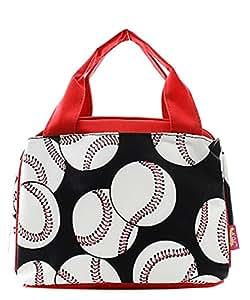 N. Gil 隔热午餐袋系列 3 Baseball Red 中 255