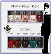 OPI 指甲油 Breakfast at Tiffany's蒂凡尼的早餐十色套装 3.75ml*10(进)