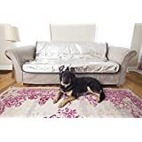 宠物家长无痛宠物驱虫器猫和狗阻尼垫,非电动宠物防污垫可防止宠物掉落沙发和家具,猫咪防污垫,高级狗狗沙发罩,保护狗狗脱落沙袋! 棕色 标准