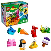 【NEW 上新 1月新品】 LEGO 乐高 拼插类玩具 DUPLO 得宝系列 我的乐趣创意盒 10865 1½-5岁 积木玩具
