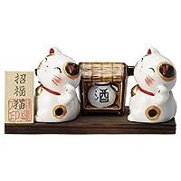 微笑小假猫【缘起】 日式*馆 旅馆 日式餐具 餐饮店 时尚 餐具 业务用 tga-5716-572