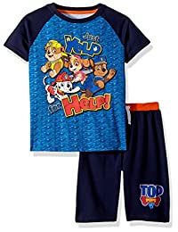 Nickelodeon 男孩狗狗巡逻队圆领短裤套装