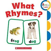(进口原版) 学乐 幼儿ABC What Rhymes?