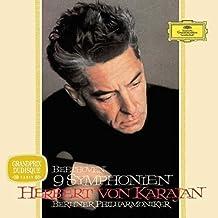 进口LP:卡拉扬:贝多芬交响曲(黑胶唱片) Beethoven Symphonies(Limited Edition)/Herbert von Karajan(8LPCD) 4790804