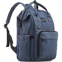 kiddycare 尿布包背包–多功能 POST 孕妇 nappy 记事本–时尚 & 大 BAGS for 旅行与婴儿深灰色 深蓝