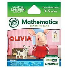 LeapFrog Olivia 学习游戏(适用于 LeapPad 平板电脑、LeapsterGS 和 Leapster Explorer)