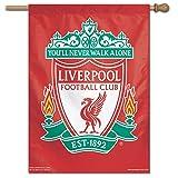 WinCraft 利物浦 FC 垂直横幅旗,红色,71.12 厘米 x 101.6 厘米