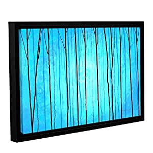"""ArtWall Herb Dickinson's Enchanted Winter Gallery Wrapped Floater Framed Canvas, 16 x 24"""""""