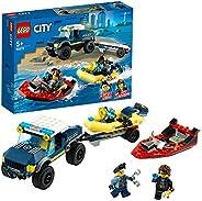 LEGO 乐高 城市系列 精英警艇运输 60272