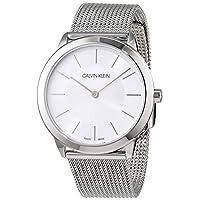 Calvin Klein 女士模拟石英手表不锈钢表链 - K3M22126