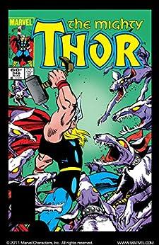 """Thor (1966-1996) #346 (English Edition)"",作者:[Simonson, Walt]"