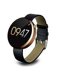 YOOZOO优者 DM360系列 智能手表 测心率 即时双向通话功能 媒体功能:播放音乐、远程拍照 健康计步 睡眠质量检测 智能提醒 语音对讲 防丢寻找 生活防水 吸附式充电 土豪金 DM360-2