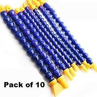 Beduan 水油冷却剂软管塑料可调节柔性冷却管适用于液压机械/水冷系统(10 个装) 0.25 英寸