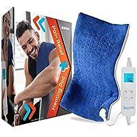 全身电动加热垫 - 便携式可水洗大毯加热垫 w/自动关闭 适用于后颈肩 脚腿肌肉**痉挛 - SereneLife SLHP24L.5