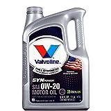 Valvoline 胜牌 max life 星皇全合成机油SN 0W-20 4.73L 5qt SN美国原装进口(特别适合美日韩系发动机 噪音更小衰减更慢动力更强8000公里只是开始 同样适用于新车)