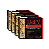 Junkless Chewy Granola Bars, 100% Real Strawberries, 1.1 oz., 6 Bars (4 Count)