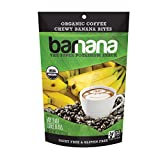 Barnana Organic Chewy Banana Bites, Coffee, 3.5 Ounce