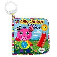 Lamaze 儿童布书 Olly Oinker Goes To park