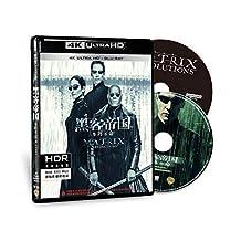 {华纳} 黑客帝国:矩阵革命 4K UHD蓝光双碟版(蓝光碟 BD100+BD50)