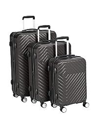 AmazonBasics 几何行李箱可扩展行李箱,内置TSA锁