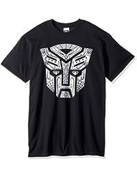 变形金刚男式 AUTOBOTS bandana 徽标 T 恤