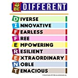 "School Smarts""It's Okay to Be Different"" 一个激励儿童和成人积极消息包装,一款强大的教学工具"