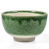 Tealyra - Matcha Bowl - 正品 - 陶瓷 - 日本制造 - 日本制造 - Chawan 来自日本的油画 - Matcha 茶杯 陶瓷 绿色 9108482