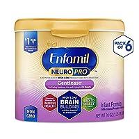 Enfamil 美赞臣 NeuroPro Gentlease 1段 0-12个月 适度半水解 婴儿配方奶粉 567g/罐 6罐装 防胀气配方